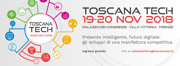 AME presente a Toscana Tech 2018